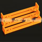 DIY circular hole plastic bar U type Connecting rod 1102, orange colour