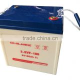 6V210A@10HR CHILWEE GEL Battery for Hybrid Car, Road Sweeper