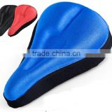 2015 new 3D Bicycle Bike Silicone Seat Cover Soft Cushion