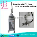 Portable Best Effective Beauty Equipment Fractional Co2 Laser Age Spot Removal Scar Removal Beauty Equipment With Ce Vagina Cleaning 2.6MHZ