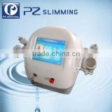PZ LASER 5 In1 Cavitation Slimming Skin Care Machine Cavitation +Vacuum+Monopolar RF+Tripolar RF Head+Multi-polar RF Ultrasonic Contour 3 In 1 Slimming Device