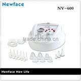 NV-600 electric massage therapy vibrating women breast increase massager nipple sucking machine