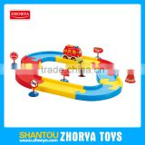 Small battery operated slot toys BO toy mini car electric track cars