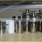 20ml to 2000ml Teflon Lined Hydrothermal Synthesis Reactor with quality Stainless Steel Shell