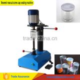 Neweek table type commercial used samll food cans sealer tin can manual screw cap sealing machine