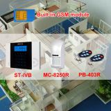 GSM alarm system w PIR door contact wireless security retail wholesale
