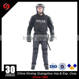 Black Protective Riot Gear Anti riot armor equipment clothes riot protection without helmet