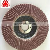 Abrasive Cloth Polisher Zirconia Oxide Mop Disc Convex Design for Edge Grinding