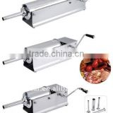 Sausage Stuffer 15lb/7 L Two Fill Rate Stainless Steel Horzontal 15 Lb Sausage Maker