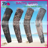 Outdoor Sport Bike Arm Sleeve Wholesale Cycling Arm Sleeves Fake Temporary Tattoo Sleeves
