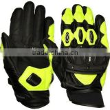 Professional Leather Motorbike Gloves / Men Racing Motorbike Gloves / Leather Gloves For Motorbike