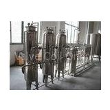 Reverse Osmosis Purified Drinking Water Treatment Equipment with Stainless Steel Material
