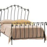 Comfortable Wrought Iron Bed BED-T-016