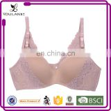 Lace Pattern Beautiful Sexual attraction sexy custom one shoulder dance sports bra tops