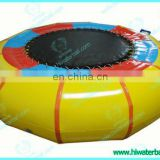 HI CE high quality inflatable water trampoline for sale