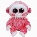 wholesales baby plush stuff toys big eyes 10 inch monkey animal toys