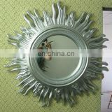 silver wall mirror frame for home decoration