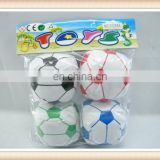 4PCS 3inch kids stuff toy football soccer ball toy