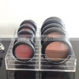 Acrylic Pressed Compact Powder Display Stand/Cosmetic Storage Display for Pressed Powder