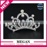 Formal Rhinestone Crowns Children Bridal Hair Combs