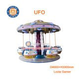 Zhongshan amusement park equipment kids rides swing flying chair 18 seat UFO flying chair for sale, kiddie rides, earn m