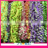 fashion 2.5cm width polyester colorful pom pom lace trim for decoration