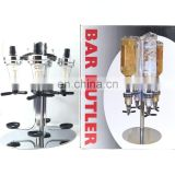 4 Station Liquor Dispenser Bar bottle Dispenser