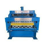 Double Layer Glazed Metal Roof Sheet Roll Forming Machinery