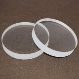 Round Circle Transparent optical sight quartz glass plates