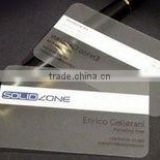 Plastic PVC Business ID Card Printing - ISO Card - Transparent translucent Business Cards for Wholesales