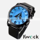 New hot Unisex Silicone Watch Top Design Fashion blue Quartz unisex Sports Silicone Casual Watches