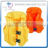 MINI QUTE Outdoor Fun & Sports 2 color children inflatable water swim vest floating life jacket for kids accessories NO.WMB07576
