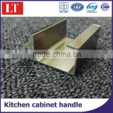High quality glass door aluminium extrusion profile frame kitchen shutter cabinet door handle cupboard door frame