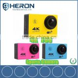 "Full hd 1080p 60fps 4K 24fps driving 30M waterproof 2.0"" LCD action camera 4k 24fps sport cam F60                                                                         Quality Choice"