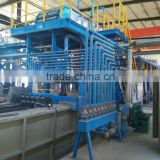 Turnkey project provided for Steel wire Hot dip galvanizing Zinc coat machine with high speed