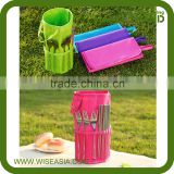 Fabric Outdoor Washable Camping Waterproof Storage Organizer /Tableware Storage Box /Fork Spoon bag