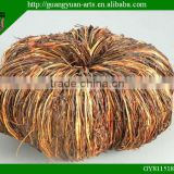 artificial wicker Halloween pumpkin wreath for decoration
