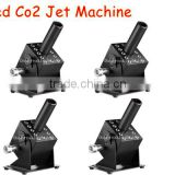 4PCS LED CO2 JET MACHINE 4 units per set for 1 Cylinder design , convenient co2 jet machine with led 12 x 3W RGB 3in1