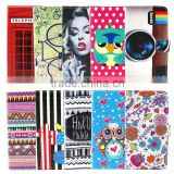 china wholesale Hot selling Printer wallet leather phone case For Moto G mobile phone accessory