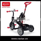 2016 RASTAR Foldable baby tricycle 3 wheel tricycle bicycle with CE certificate