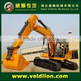Hot crawler and wheel excavator price, bucket capacity: 0.4-1.5m3