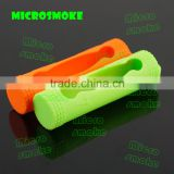 Wholesale silicone case/skin/sleeve/cover/holder/enclocure for Li-Ion 18650 3.7V Lithium Rechargeable Battery