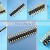 PCB used straight right angle smt with 1mm 1.27mm 2mm 2.54mm pitch pin header