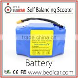 Bedicar 2 wheel electric scooter Parts Self Balancing Scooter Battery 36V 4400 mAh