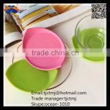 Fashionable customized good quality PVC soft rubber cup pads silicone cup pads mould