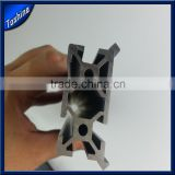 Used for rail system aluminum extrusion makerslide black anodized alu profile