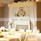 Hot selling wedding backdrop stand, pipe and drape stands for decoration                                                                         Quality Choice