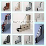 aluminum extrusion glass frame production batch customized various types aluminum aluminum profile