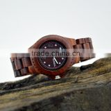 Factory Direct & Best Price Fashion Women Wrist Watch Custom Luxury Wholesale Wood Watch