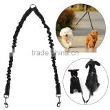 Homdox Pets Dog Leash Coupler Double Dog Walker Lead Elastic Two Dogs Leash Splitter AM002453